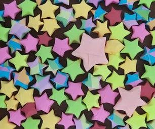折纸3D星星