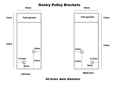 The Gantry Pulley Brackets