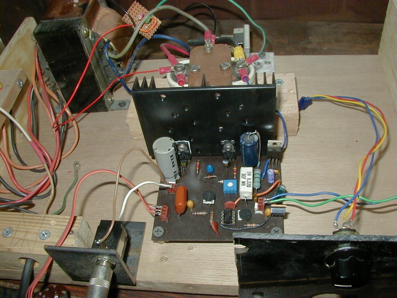 Transistor Amplifier Build