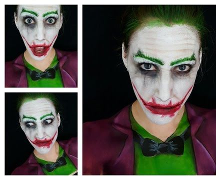 Joker Body Paint