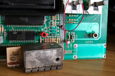 Removing the RF Module