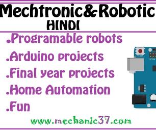 Mechatronic&Robotic in Hindi