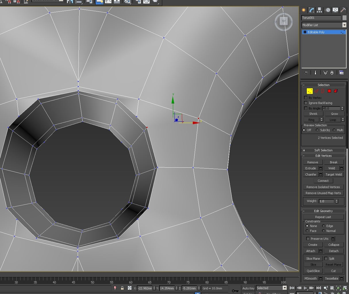 3d Modeling: Creating the Basic Pattern - Boolean