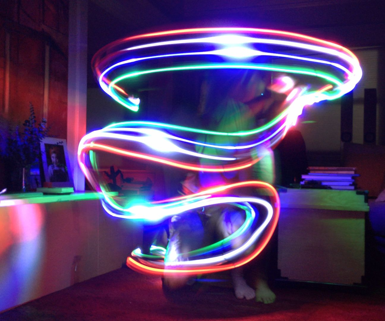 IPhone Light Painting