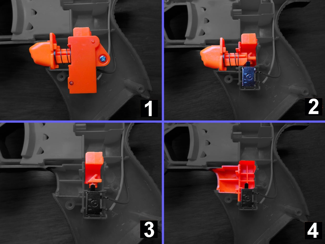 Remove the Block in the Motor Trigger