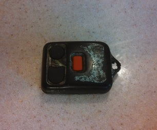 Repair Broken Key Fob