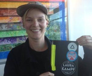 Laura Kampf Notebook Pen Holder