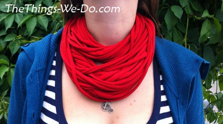 How to Make a Textile Noodle Necklace
