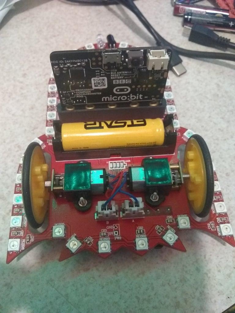 Starry:Bit Project 2 Motor