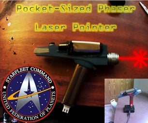 From a Pocket Phaser to a Pocket Laser