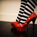Light Up Glitter Heels
