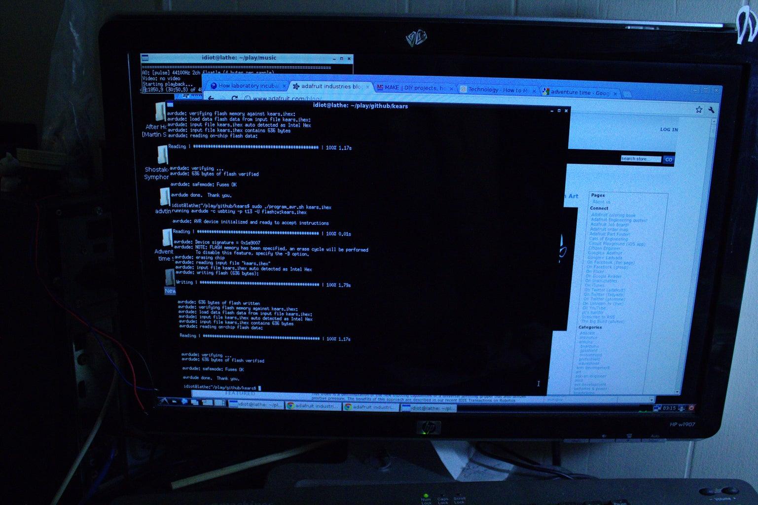 Programming the ATTiny13