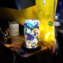 Glowing Stones LED Lamp