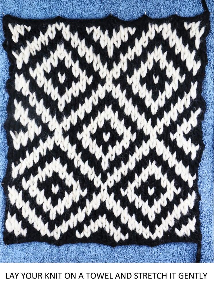 Block Your Knitting