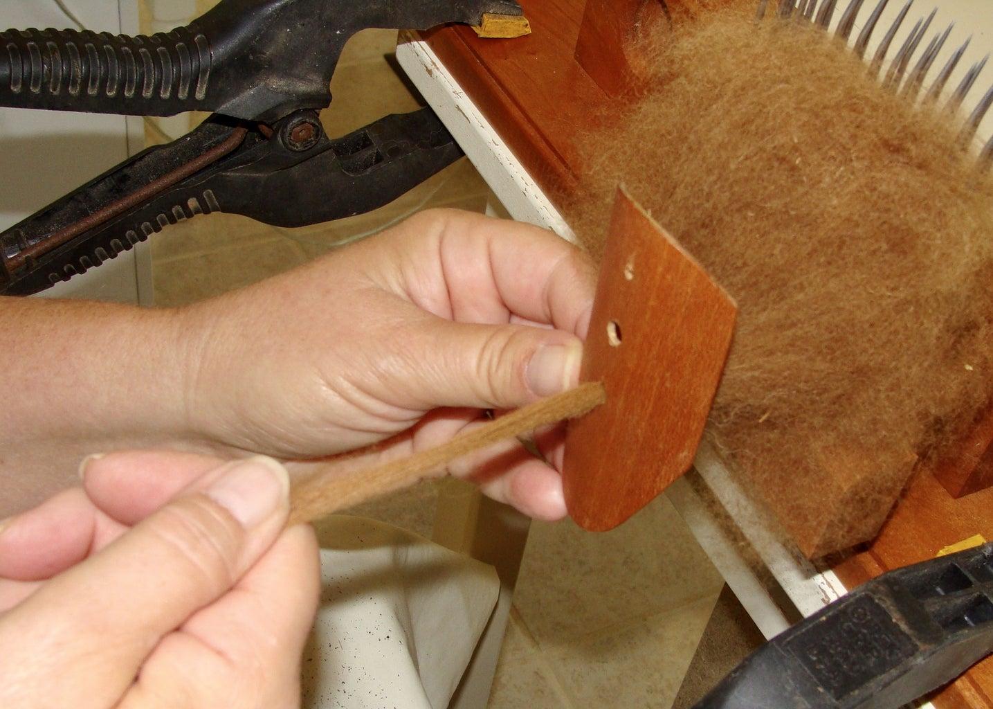 Fiber Prep - Combing (Part 2)