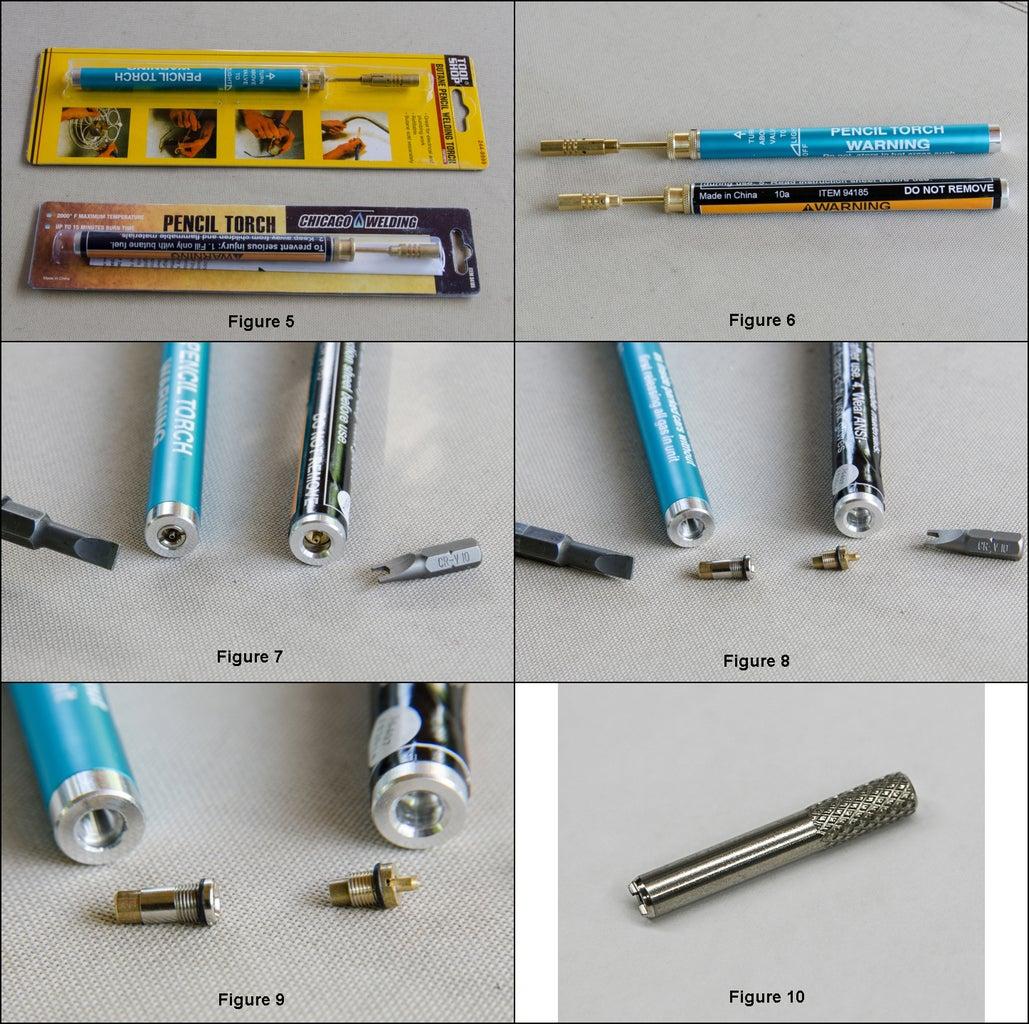 Refillable Cartridges (butane Bottles)