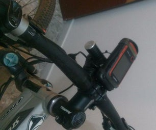 DIY Bicycle Mount for GPS Garmin Etrex 10, 20 and 30. (maybe Other Models Too!)