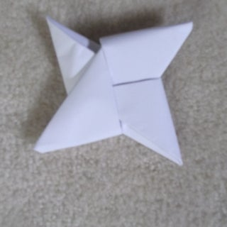 Origami Ninja Star (Shuriken) - Video Instructions