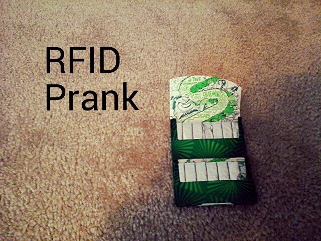 RFID Gum Prank