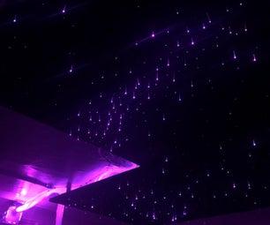 Fiber Optic Star Ceiling W/ Indirect Lighting