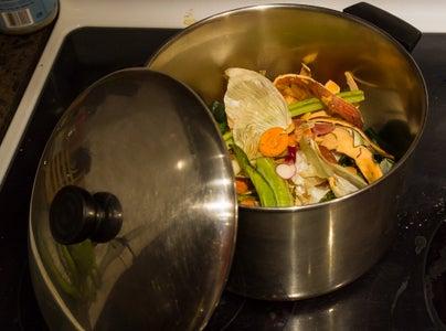 Easy Homemade Vegetable Soup Stock