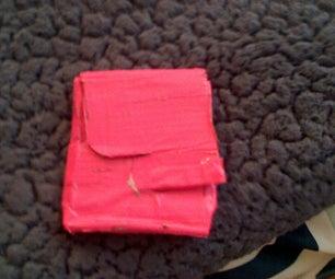 Flip Open Duct Tape Wallet!
