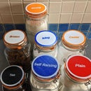 3D Printed Kilner Jar Labels Using SCAD