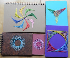 Embroidered Notebook Covers