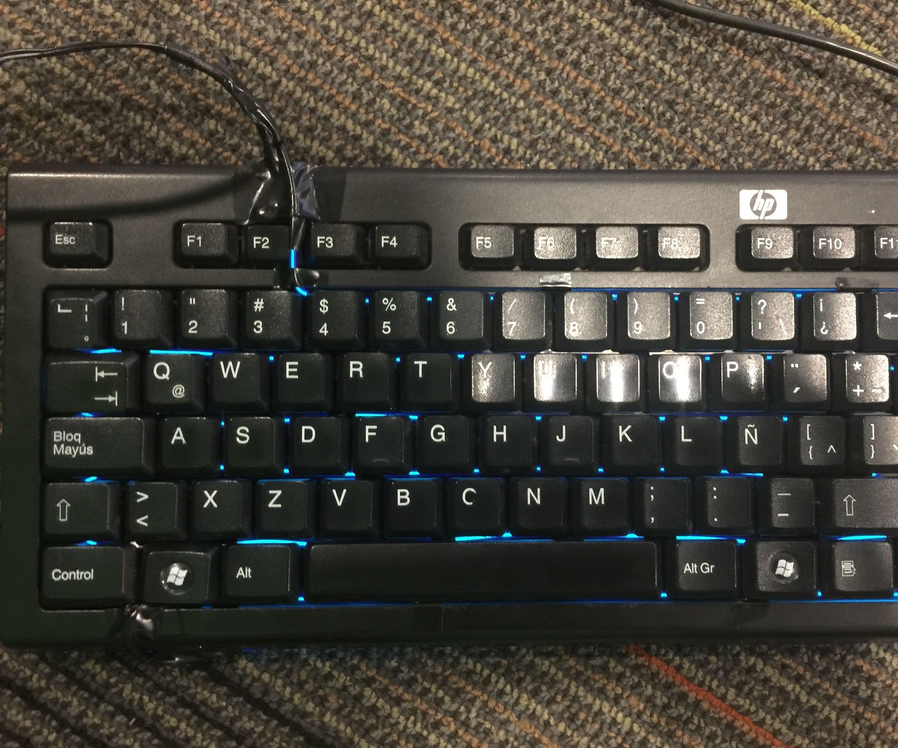 Customizing and Improving a Broken Keyboard