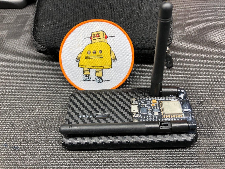 Long Range WiFi Scanner Using ESP8266