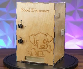 Arduino Dog Food Dispenser