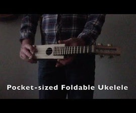 Pocket Sized Foldable Ukulele