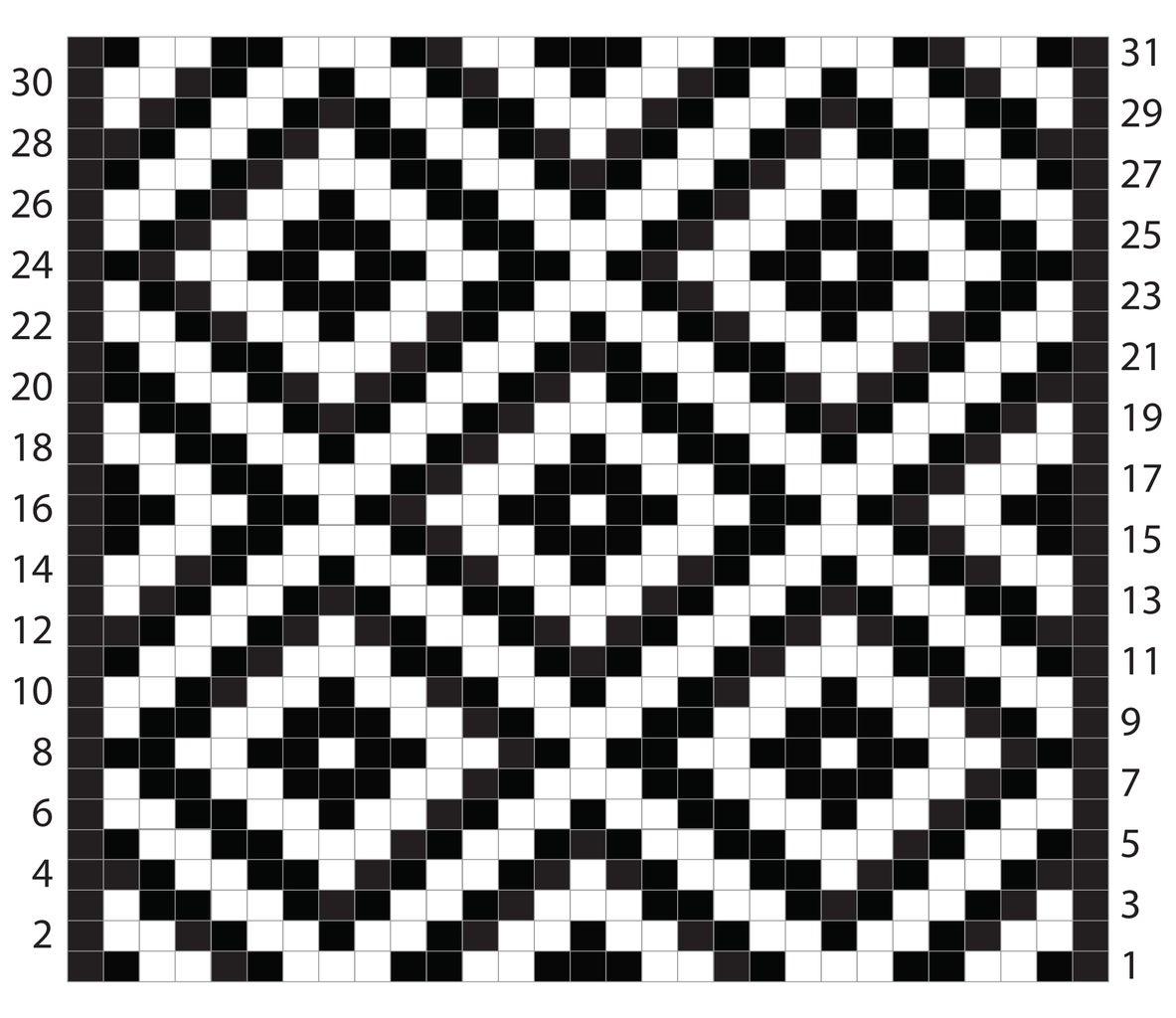 Knitting a Jacquard Pattern