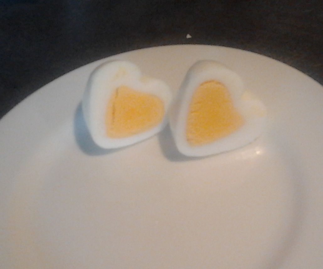 Valentine Breakfast Egg