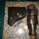Tomahawk Sheath, haft wrap, and belt holster