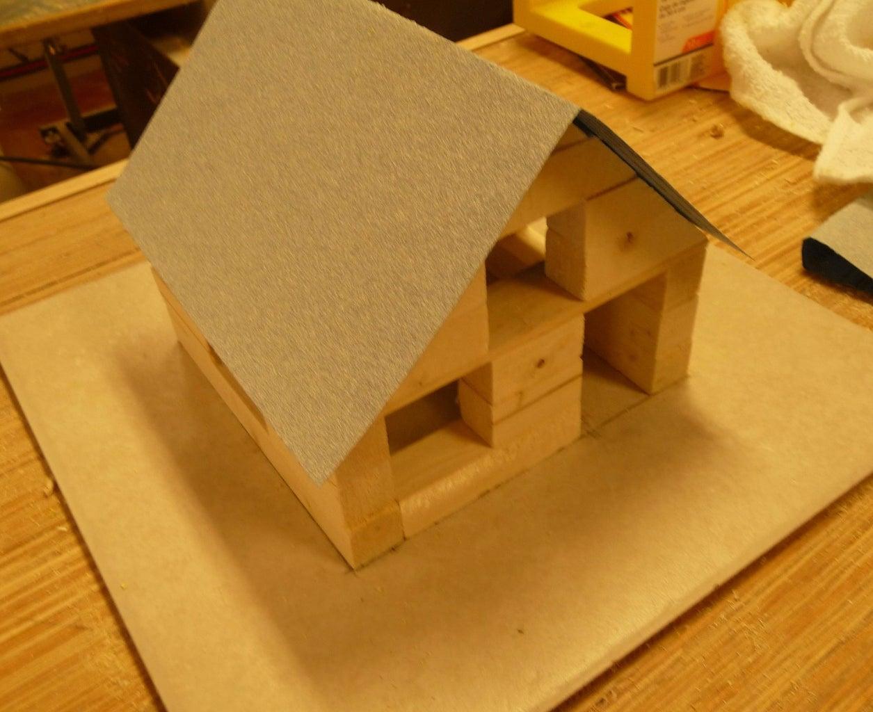 KinderShop Project, a Rustic Cabin