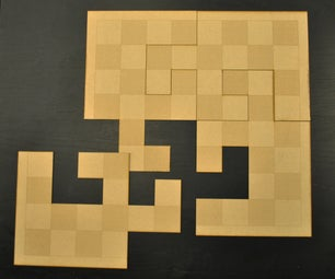 Making a Break Apart Puzzle Chessboard - I Made It at TechShop San Jose