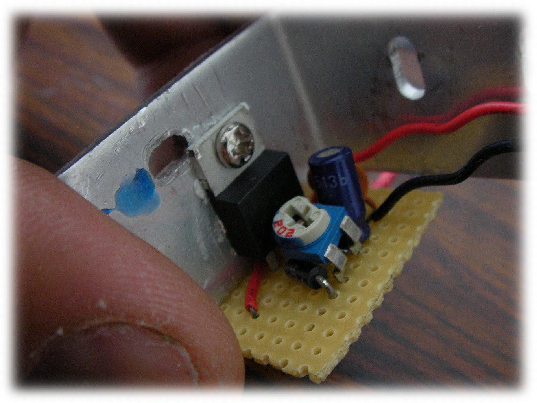 Making the Voltage Regulator.