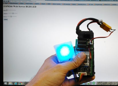 Program the ESP8266 to Control RGB Leds
