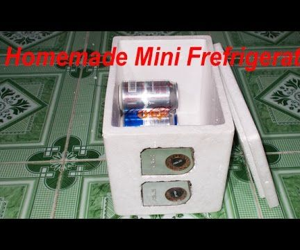 DIY Homemade Mini Fridge Frefrigerator 2 Chiller Air Conditioner 2 Peltier Cooler Thermoelectric