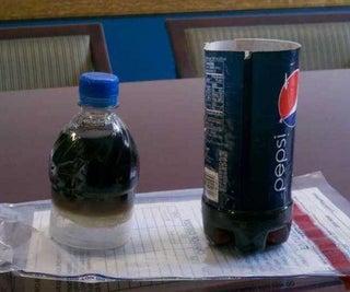 Secret Pepsi Bottle