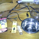 DIY Cheep/safe Heated Water Dish for Pets