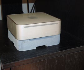 Apple Mac Mini Cooler (Made With Drawer Slide CNC)