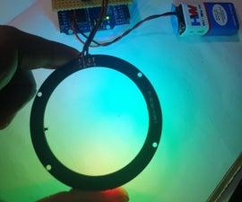 Portable RGB Lighting for Photography/Selfie