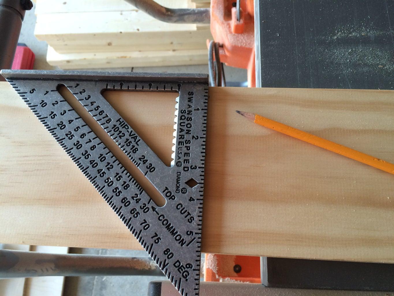Cut the Shelves to Length