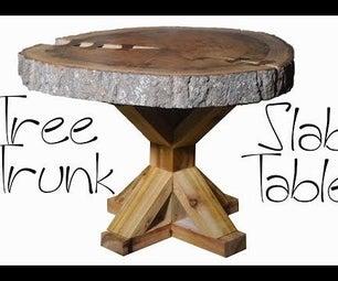 Live Edge Slab Coffee Table