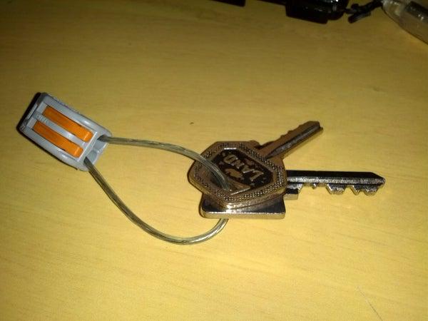 Wago 222 Connector Keychain