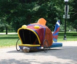 Three Wheel Bike Kinetic Sculpture