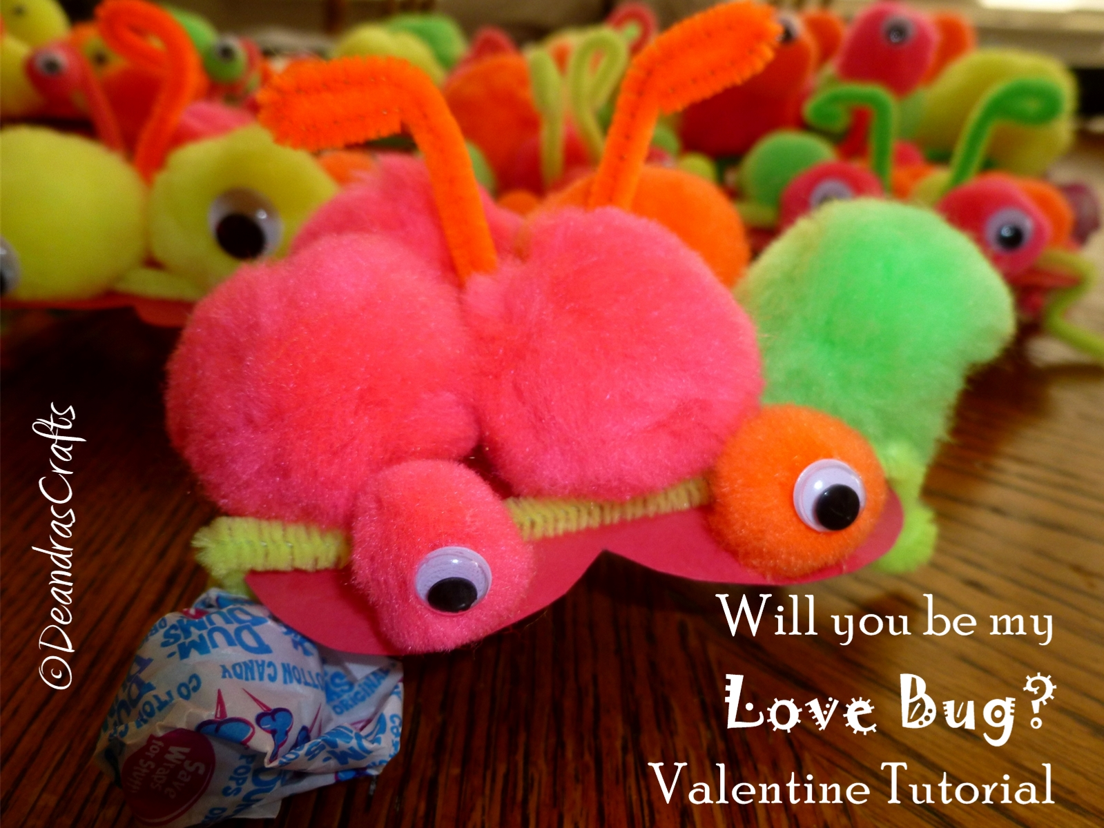 """""""Will you be my Love Bug?"""" Kids Valentines"""