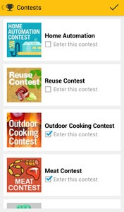 Click Enter Contest.